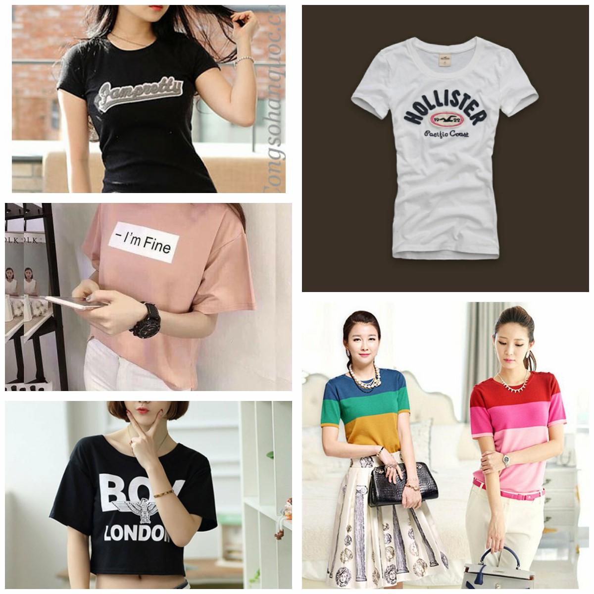 nhung mau ao thun nu moi nhat 5 - Những mẫu áo thun nữ mới nhất hiện nay