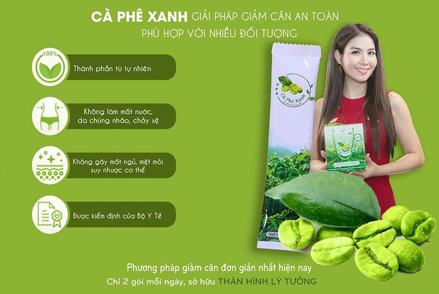 ca phe xanh tot khong - Cà phê xanh chính hãng Thiên Nhiên Việt - Giá sỉ 70k/hộp
